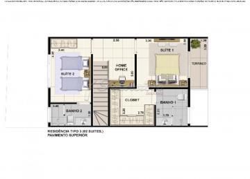 Imóvel com 2 Dormitórios, sendo 2 Suítes, com 1 Closet, 1 Lavabo, Sala de Estar, Cozinha, Área de Serviço, Quintal: pequeno, 1 Garagem:  coberta. Acabamento: teto laje e piso frio.